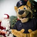 Deck the Hall - Winter Lights Festival; Saanich Police; Mascot Ace